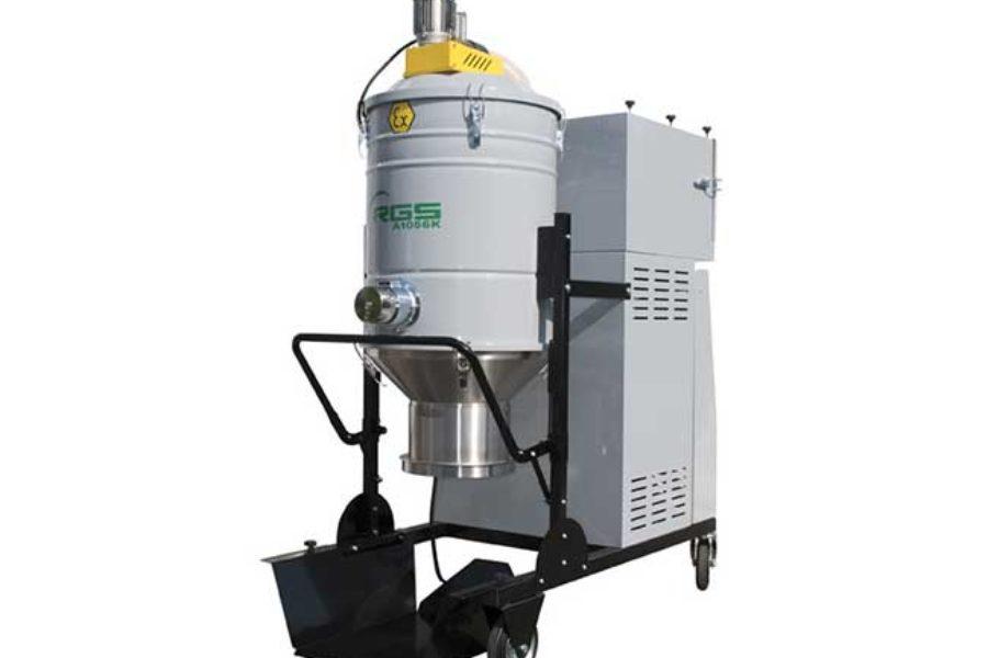 A1056KX1.3D – Nuovo aspiratore industriale ATEX 7.5 Kw con kit Longopac