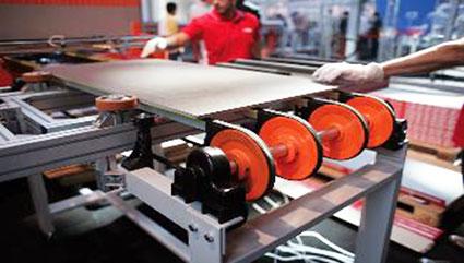 Керамическая промышленность Пневматические конвейеры