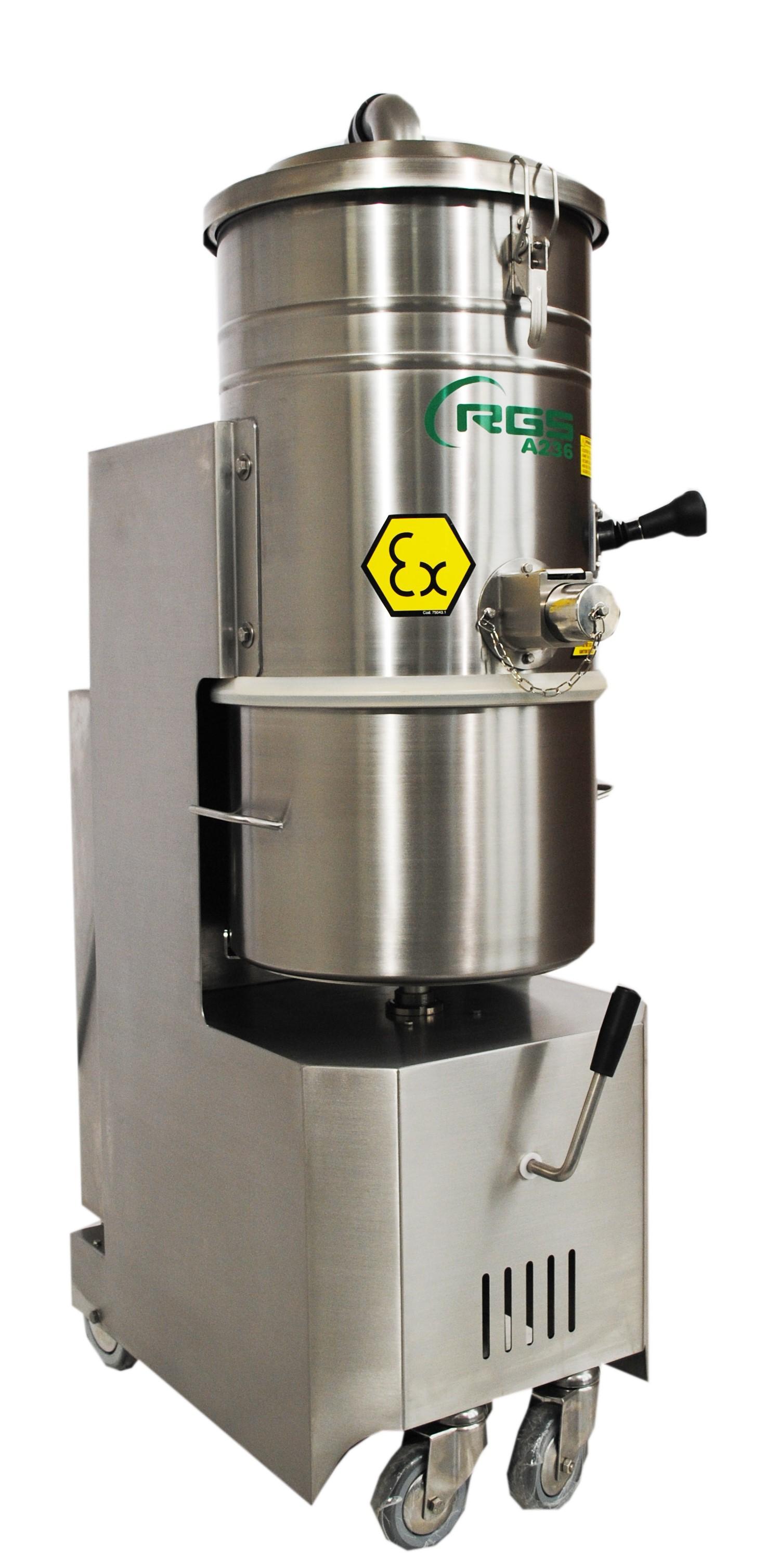 aspiratore industriale farmaceutico inox pharma