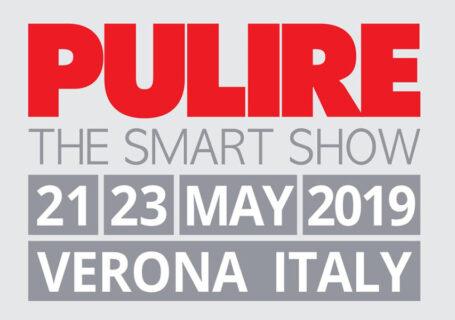 """Fair """"PULIRE"""" 21 / 23 Maggio 2019 – Verona"""