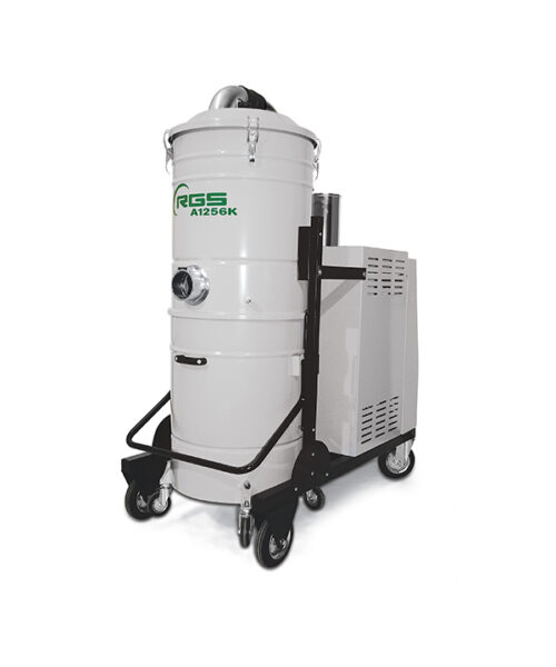 THREE-PHASE INDUSTRIAL VACUUM CLEANER A1256K-A1556-A1856K