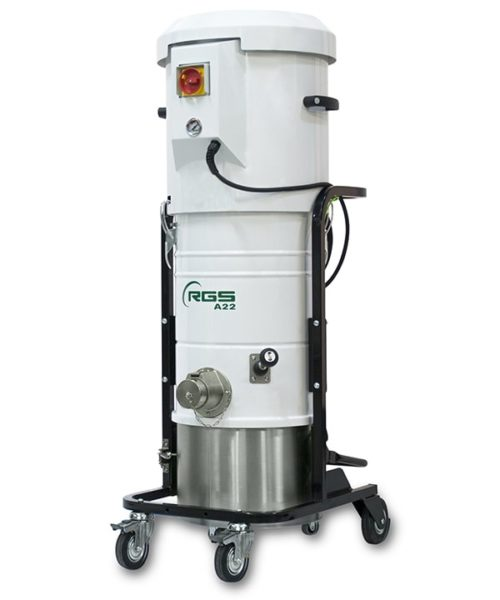 THREE-PHASE INDUSTRIAL VACUUM CLEANER A21-A22