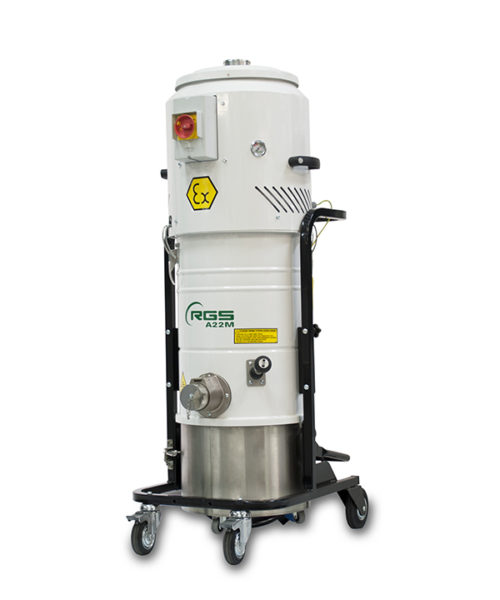 ATEX SINGLE-PHASE INDUSTRIAL VACUUM CLEANER A21MX1.3D-A22MX1.3D