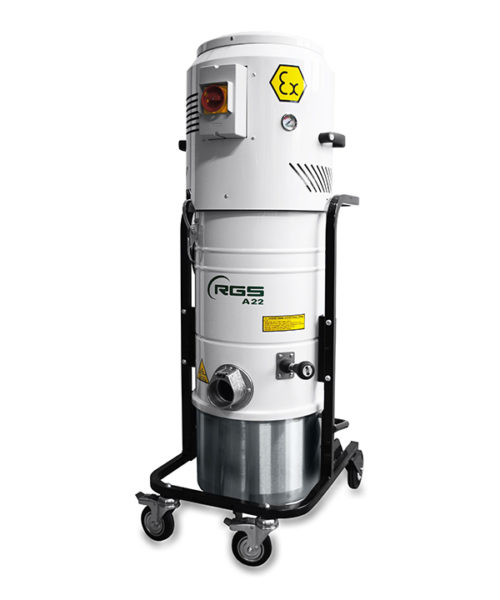 ATEX THREE-PHASE INDUSTRIAL VACUUM CLEANER A21X1.3D-A22X1.3D