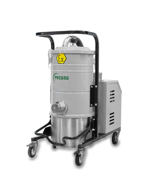 ATEX SINGLE-PHASE INDUSTRIAL VACUUM CLEANER A337MX1.3D