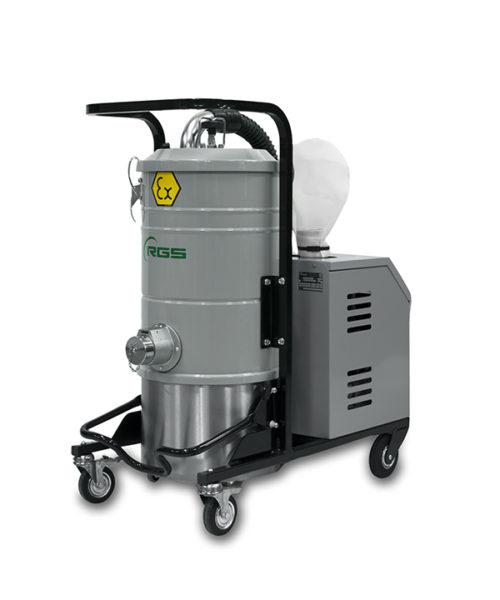 ATEX THREE-PHASE INDUSTRIAL VACUUM CLEANER A337X1.3D