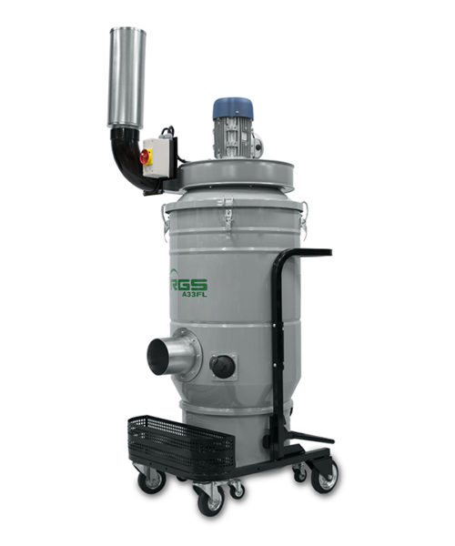 THREE-PHASE INDUSTRIAL VACUUM CLEANER VENTILATION – A33FL