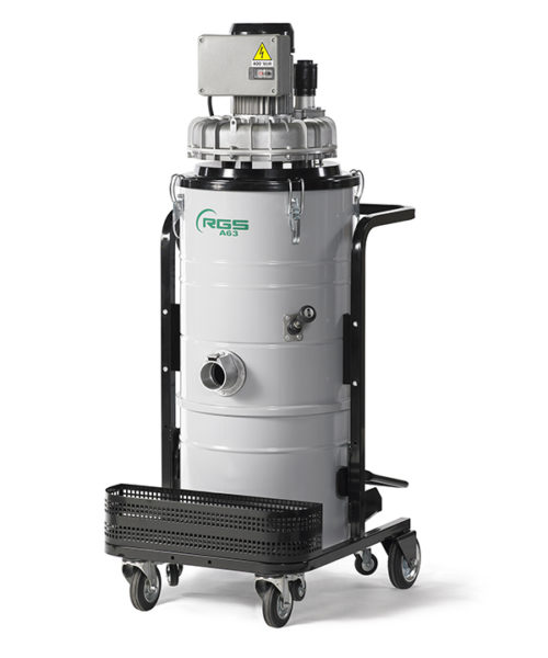 THREE-PHASE INDUSTRIAL VACUUM CLEANER A63-A65-A103