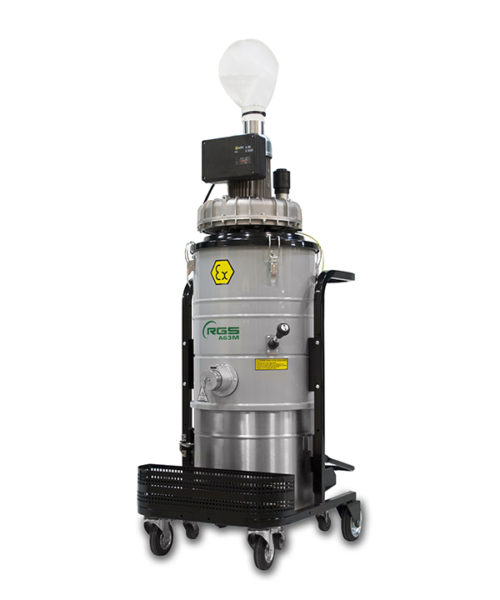 ATEX SINGLE-PHASE INDUSTRIAL VACUUM CLEANER A63MX1.3GD