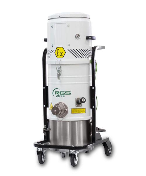 ATEX COMPRESSED AIR INDUSTRIAL VACUUM CLEANER AD36X1