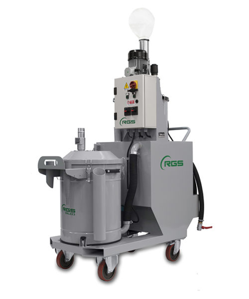 THREE-PHASE INDUSTRIAL VACUUM CLEANER FOR OILS OIL223-OIL225