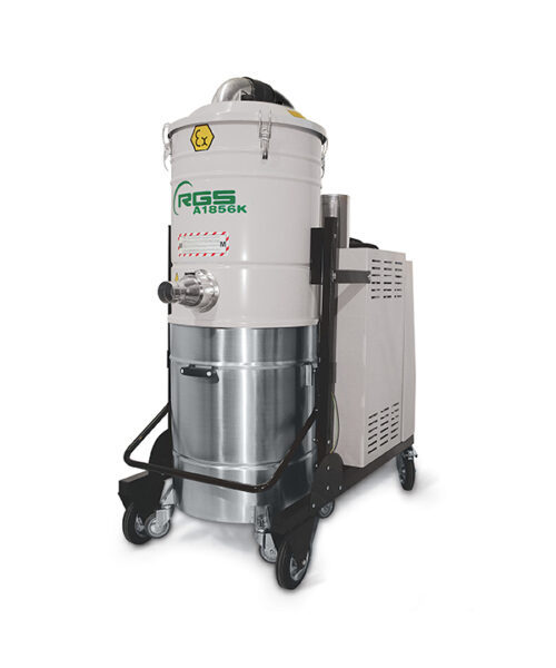 ATEX THREE-PHASE INDUSTRIAL VACUUM CLEANER A1856KX1.3D