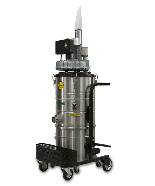 ATEX THREE-PHASE INDUSTRIAL VACUUM CLEANER A63X1.3GD-A65X1.3GD