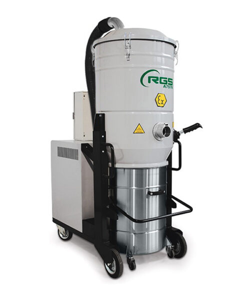 ATEX THREE-PHASE INDUSTRIAL VACUUM CLEANER A757KX1.3GD