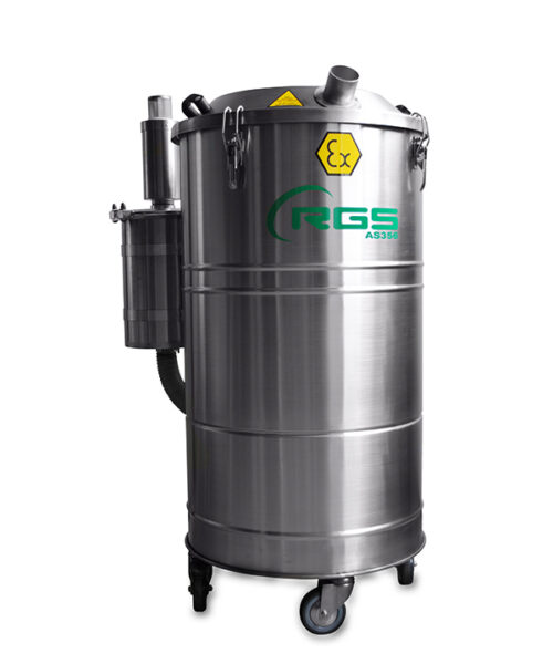 ATEX TRIM EXTRACTOR THREE-PHASE INDUSTRIAL VACUUM CLEANER AS356X.3D-AS1556X.3D