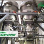 Transport pneumatyczny do przenoszenia proszków spożywczych
