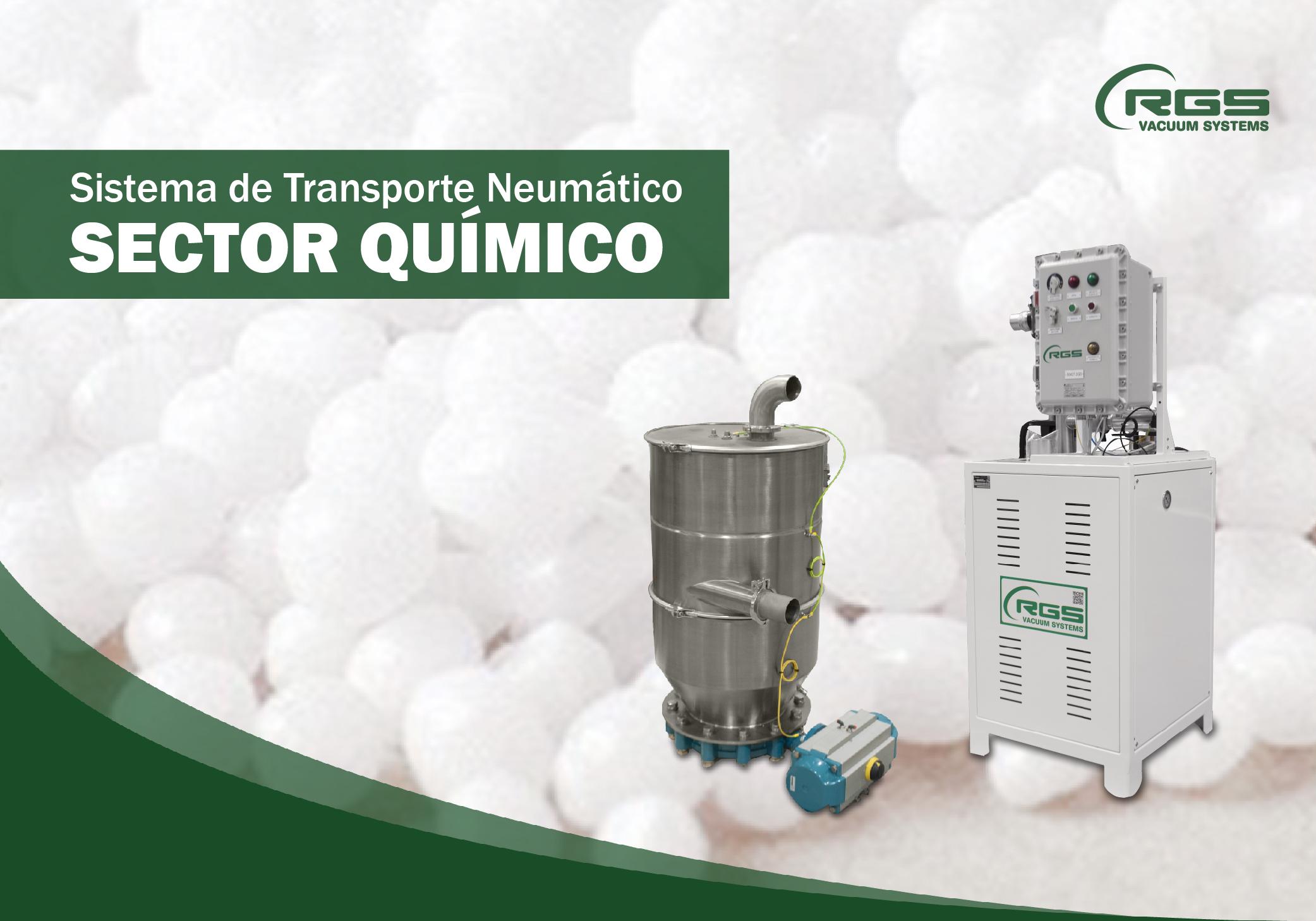 Sistema De Transporte Neumático para el SECTOR QUÍMICO
