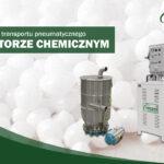 System transportu pneumatycznego dla SEKTORZE CHEMICZNYM