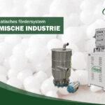 Pneumatisches fördersystem für den CHEMISCHE INDUSTRIE