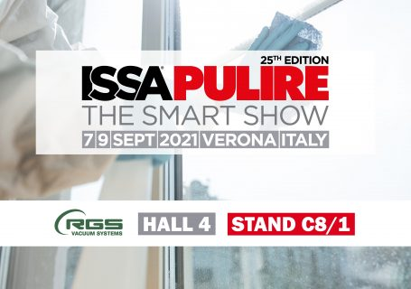 RGS Vacuum Systems a ISSA PULIRE 2021