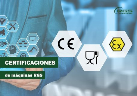 Certificaciones de máquinas RGS