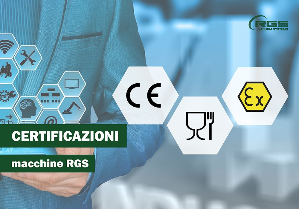 Certificazioni macchine RGS