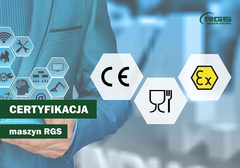 Certyfikacja maszyn RGS
