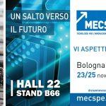 Ti aspettiamo a MECSPE 2021